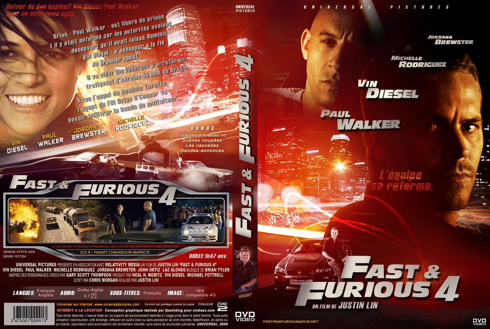 the gallery for gt fast and furious 4 dvd cover